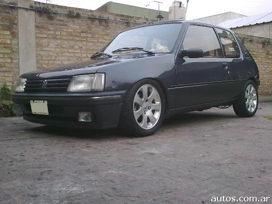 peugeot 205 xs full en tres de febrero ars a o 1994 nafta. Black Bedroom Furniture Sets. Home Design Ideas