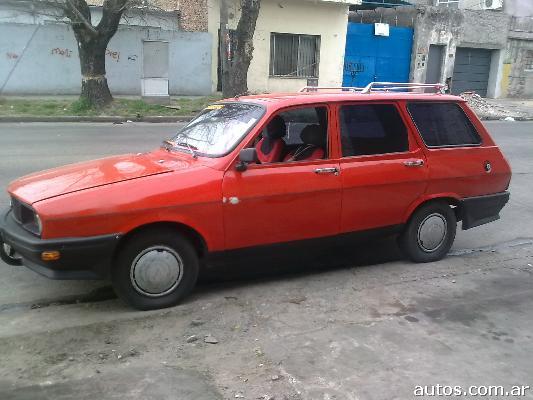 Renault 12 Rural 81 en Barracas $ARS 18.000, año 1981, GNC