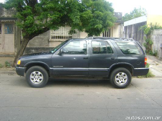 Chevrolet Blazer 1996. Chevrolet Blazer dlx 2.2 nafta