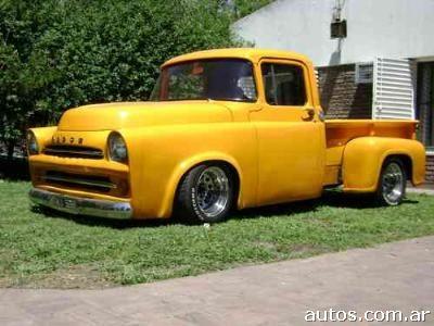 Dodge on Dodge Fargo D 100 En San Mart  N Us  18 500  A  O 1957  Nafta