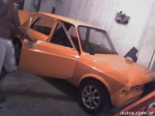 Lomas De Zamora. Fiat 128 en Lomas de Zamora