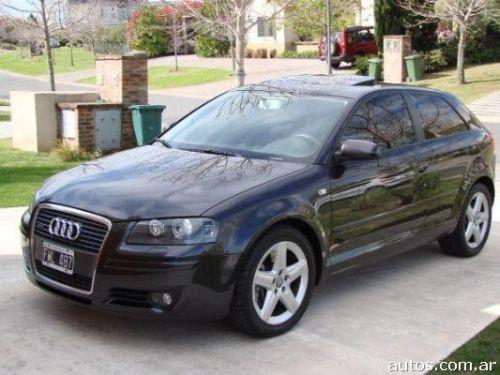 modelo 2006 - 75000 km - Nafta - audi a3 3.2 quattro dsg 260 hp el auto no