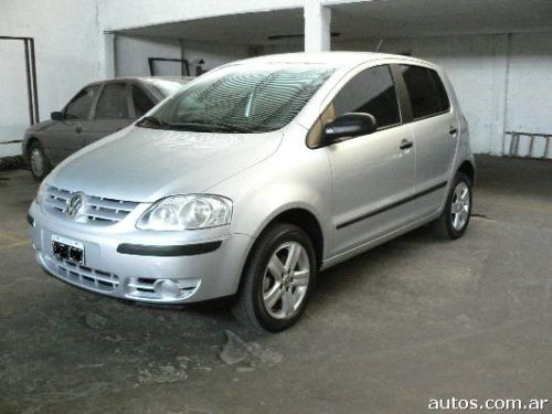 volkswagen fox confort line en san mart n ars a o 2008 diesel. Black Bedroom Furniture Sets. Home Design Ideas
