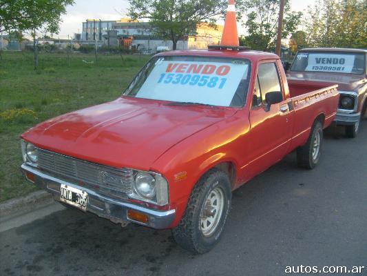 Toyota Hilux en General Pico $ARS 20000, año 1985, Diesel