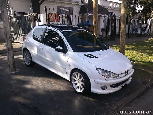 peugeot 206 xs premium 3 p en comandante luis piedrabuena ars a o 2007 nafta. Black Bedroom Furniture Sets. Home Design Ideas