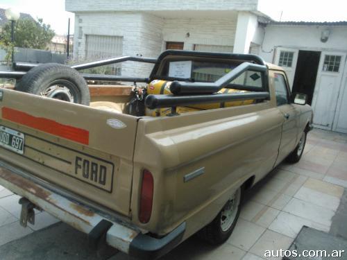 Ford Ranchero Camioneta Con Barra En Mar Del Plata Ars 19