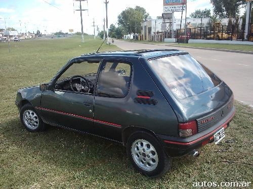 peugeot 205 xs en tigre ars a o 1992 gnc. Black Bedroom Furniture Sets. Home Design Ideas